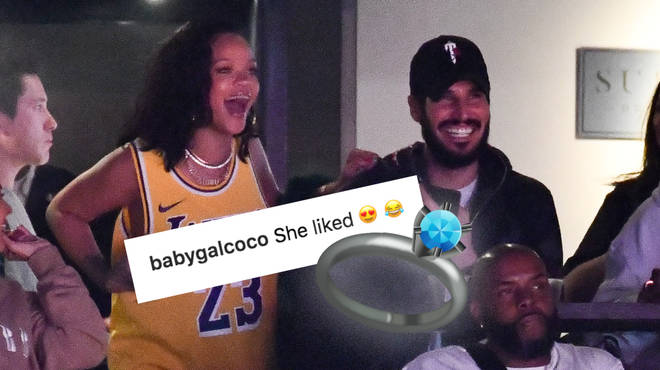 Rihanna and Hassan Jameel might already be engaged