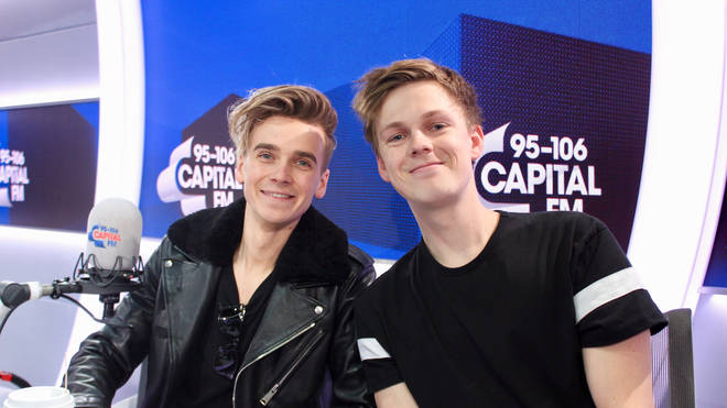 Joe Sugg and Caspar Lee joined Capital Breakfast to chat about Wonder Park