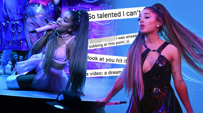 Ariana Grande keeps on surprising fans on tour