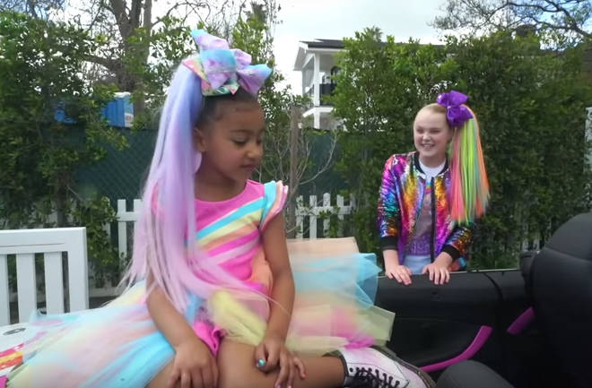 North West hung out with her idol, JoJo Siwa on Sunday
