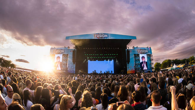 James Arthur took to the stage For Fusion in 2018