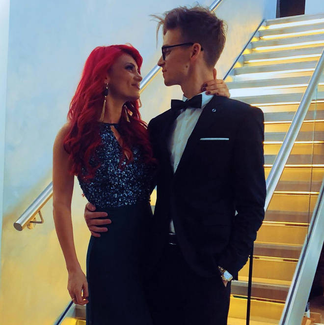 Joe Sugg and Dianne Buswell confirmed their relationship in December
