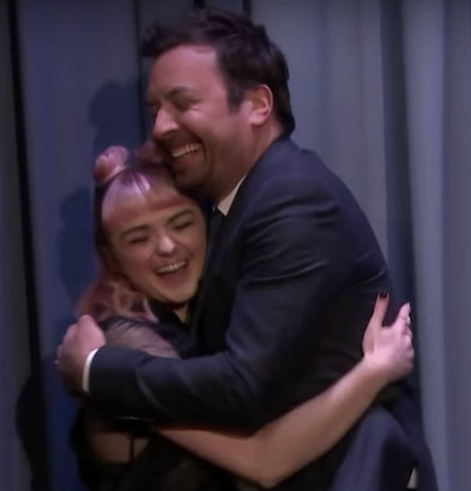 It turns out Maisie and Jimmy were pranking us all. Har har.