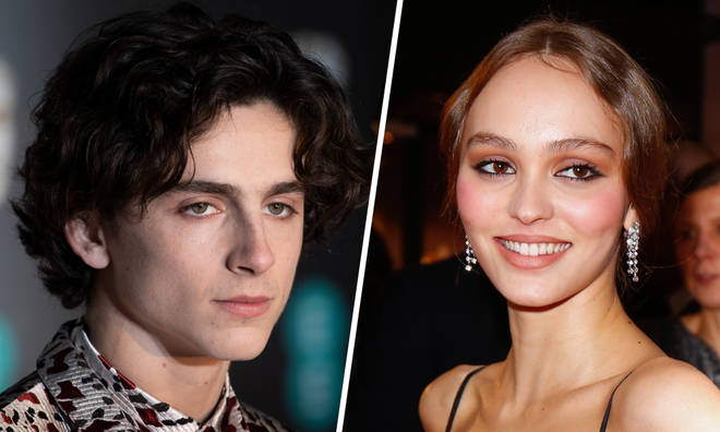 Timothée Chalamet and Lily Rose Depp have been spotted kissing