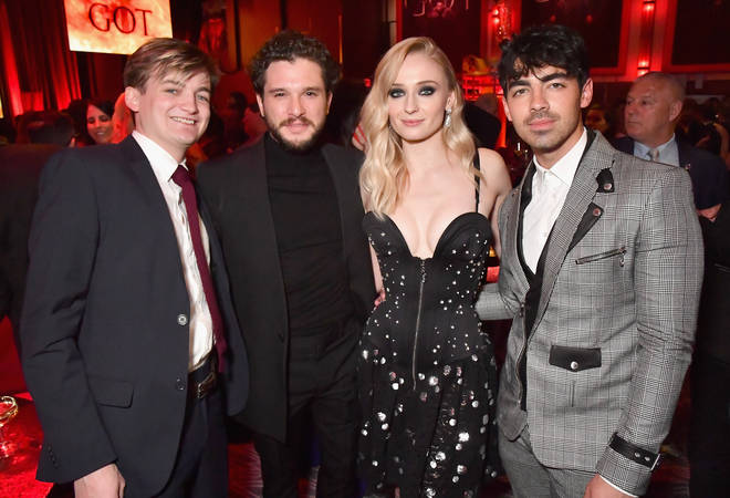 Joe joined GoT stars Kit Harington and Jack Gleeson at last night's premiere