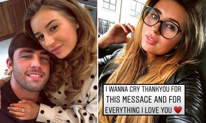 Dani Dyer has been feeling emotional following her split from Jack Fincham