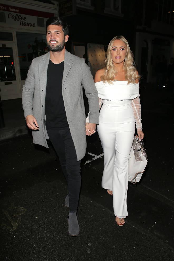 Amber Turner and Dan Edgar split up in December 2018