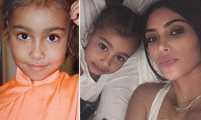 North West pretended Kim Kardashian was dead.