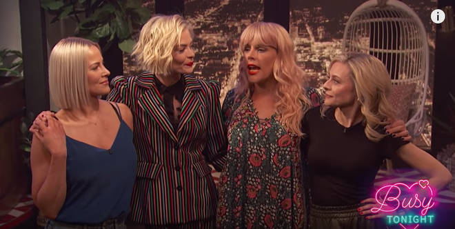 Busy Philipps reunites with her White Chicks crew