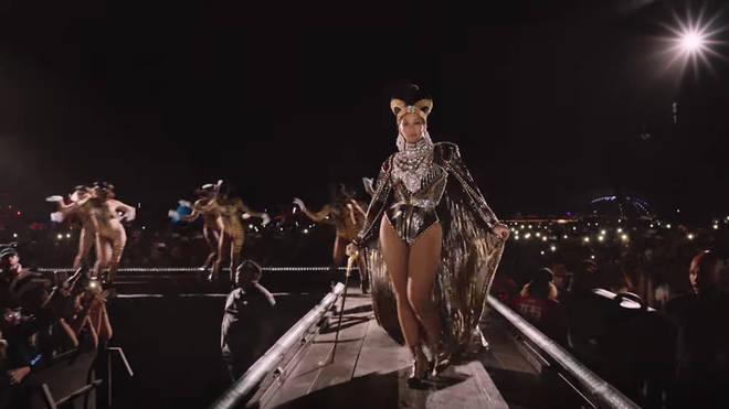 Beyoncé's two weekend Coachella set has been turned into a Netflix film