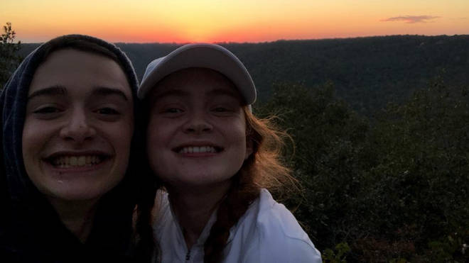 Sadie Sink is close friends with co-star Noah Schnapp