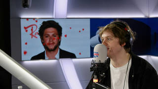 Lewis Capaldi spoke about his bromance with Niall Horan