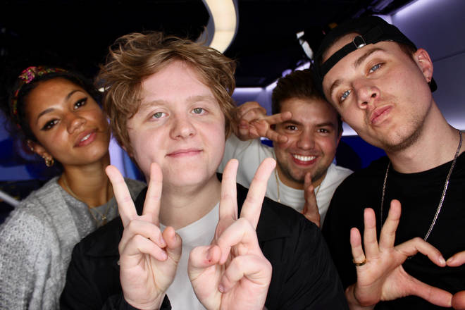 Lewis Capaldi caught up with Capital Breakfast with Roman Kemp