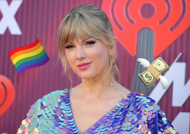 Taylor Swift has donated money to an LGBT organisation.