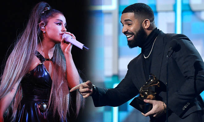 Ariana Grande and Drake have fuelled speculation they're collaborating