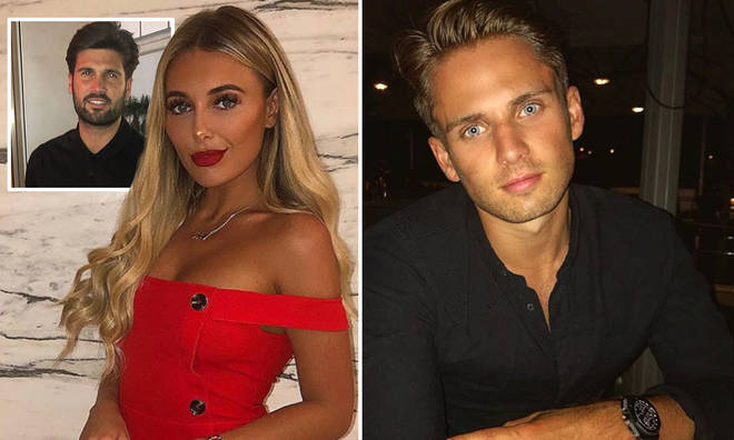 Amber Turner was apparently seen kissing Love Island's Charlie Brake