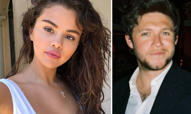 Selena Gomez & Niall Horan were spotted together at a gig.
