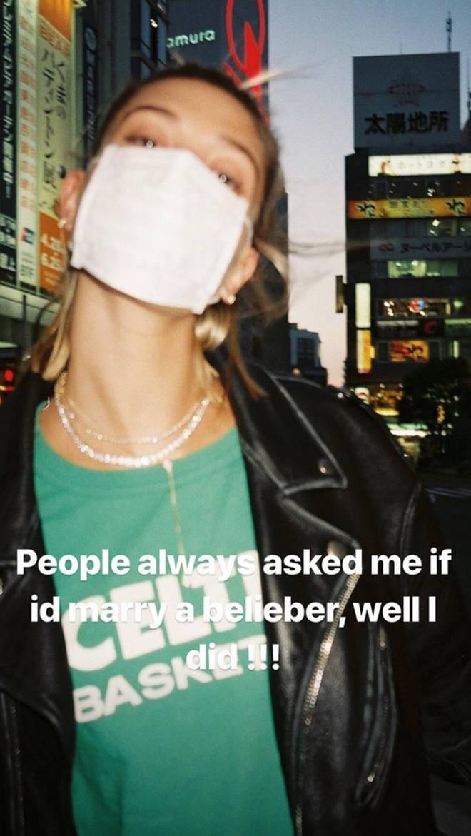 Hailey Baldwin has always been a fan of Justin Bieber