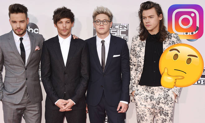 One Direction's Instagram account has been re-activated