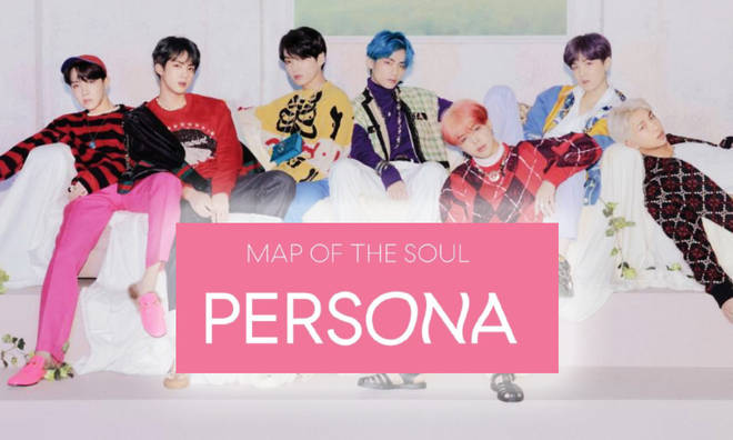 BTS' new album 'Map of the Soul: Persona'