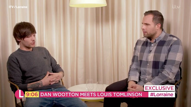 Louis Tomlinson talks about music helping him through the grieving process