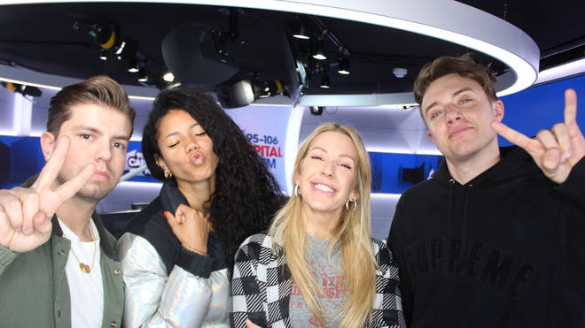 Ellie Goulding joined Capital Breakfast with Roman Kemp
