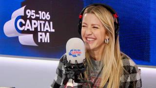 Ellie Goulding spoke about her wedding singer