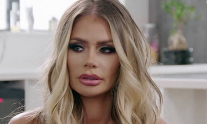 Chloe Sims looked shocked by Dan Edgar's revelation