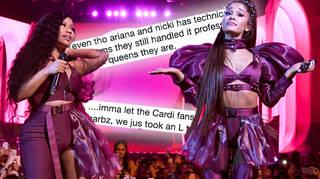 Ariana Grande & Nicki Minaj plagued by technical difficulties during Coachella performance