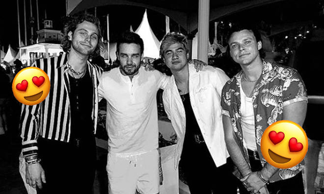 Liam Payne partied with 5SOS at Coachella