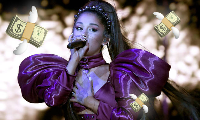 Ariana Grande has made an enormous amount of money from Coachella headline slot