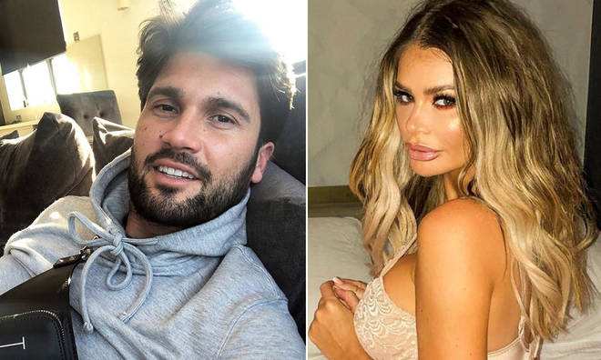 Dan Edgar is 'upset' about the rumours he cheated on Chloe Sims