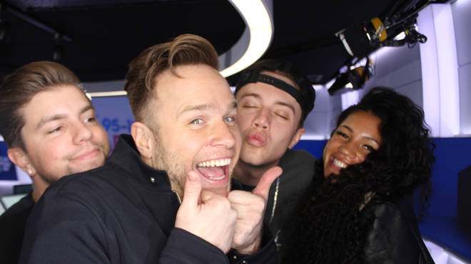Olly Murs caught up with Capital Breakfast with Roman Kemp