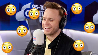 Olly Murs awkwardly bumped into Gary Barlow in the toilets