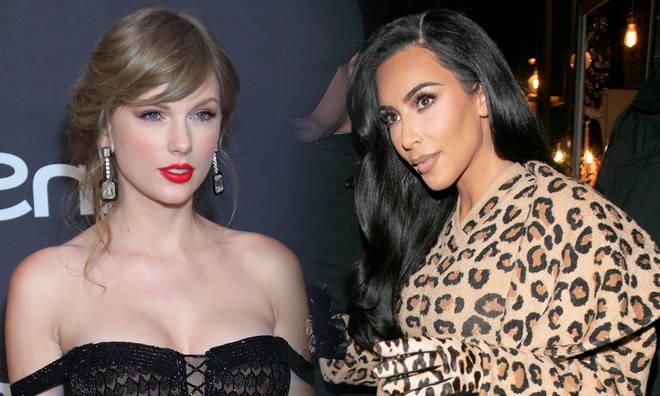 Kim Kardashian Re-ignites Taylor Swift Feud By Launching