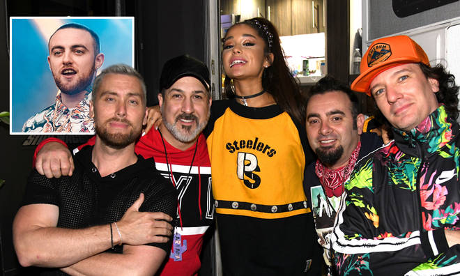 Ariana Grande paid tribute to Mac Miller at Coachella
