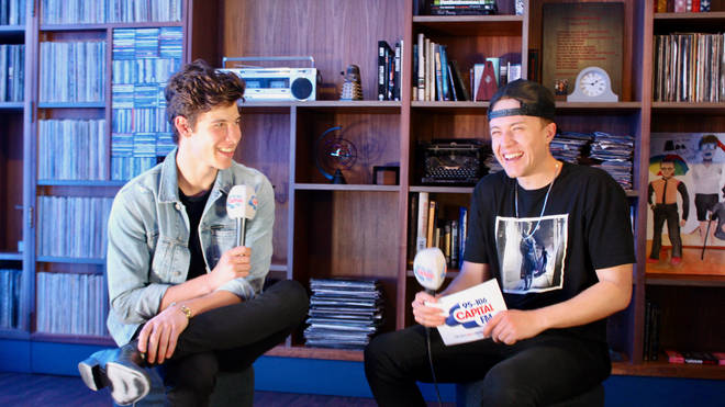 Shawn Mendes caught up with Capital Breakfast with Roman Kemp