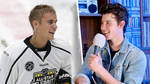 Shawn Mendes discussed his ice hockey challenge against Justin Bieber