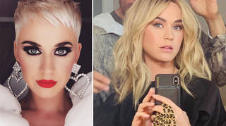 Katy Perry is rocking a brand new look.