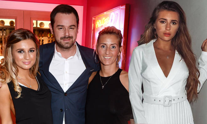 Dani Dyer's parents had a stern word with her