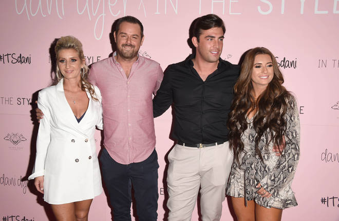 Dani Dyer's parents have told her to 'steer clear' of her ex boyfriend