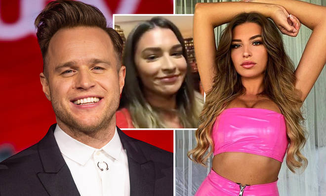 Zara McDermott didn't deny she was dating Olly Murs when quizzed by Victoria Derbyshire