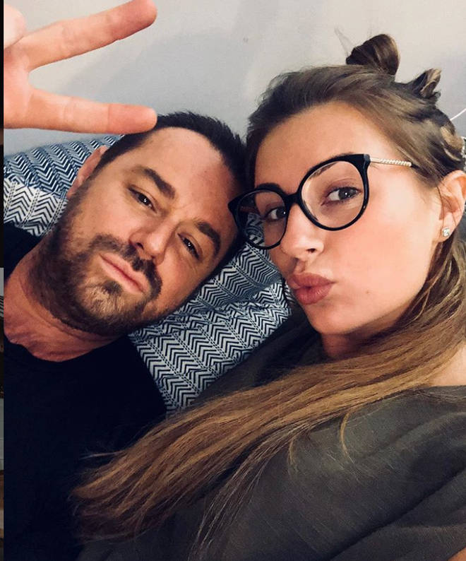 Dani Dyer's dad advised his daughter to end her relationship with her ex