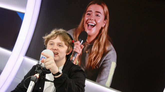Lewis Capaldi dated fans on Capital Breakfast