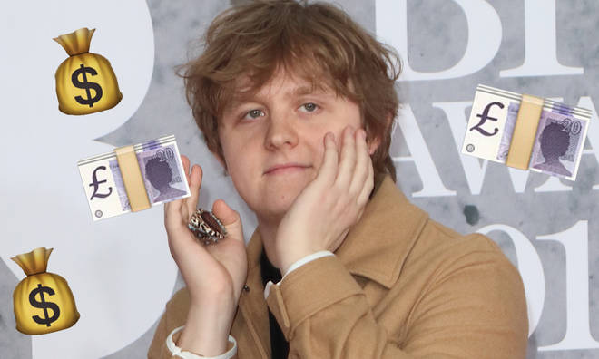 Lewis Capaldi told fans he has £200 in his bank account