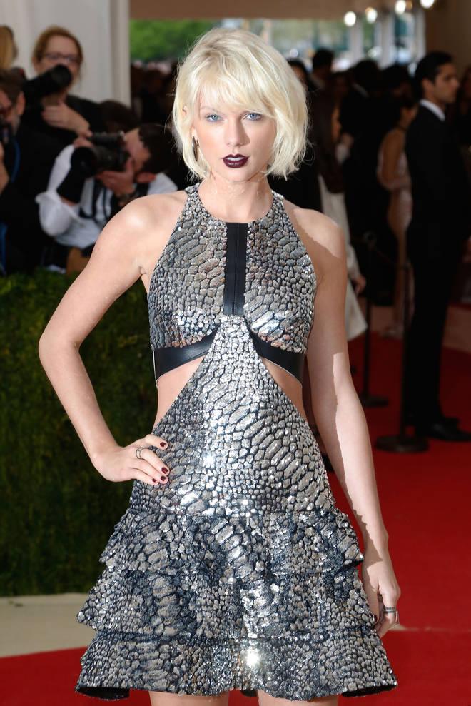 Taylor Swift's 'Dress' lyrics hint she met Joe Alwyn at the 2016 MET Gala