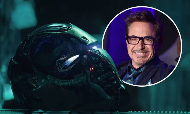What is the sound at the end of the Avengers: Endgame credits?