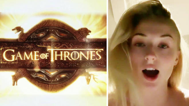 Sophie Turner reacts to the latest episode of Game Of Thrones
