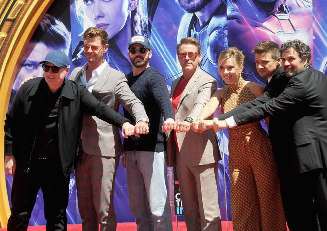 Robert Downey Jr., Chris Evans and Jeremy Renner star in Avengers: Endgame
