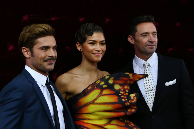 Zac Efron starred in The Greatest Showman with Zendaya and Hugh Jackman